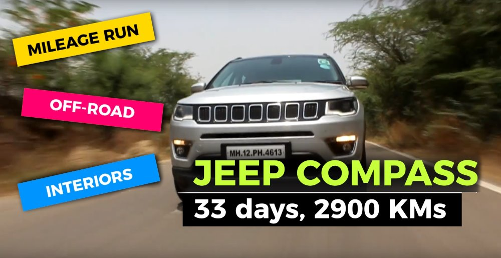 2900 km with the Jeep Compass: Here's what we think after 30 days!
