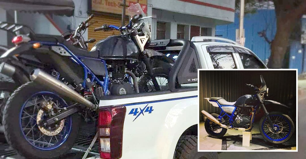 Off-roader's dream: Modified Isuzu V-Cross and Royal Enfield Himalayan