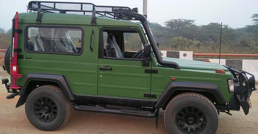Indian Army to purchase Force Gurkha 4×4 based Light Strike Vehicles (LSVs)