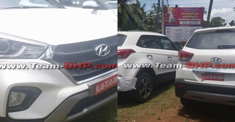 New Hyundai Creta facelift spied ahead of launch – Images & Video