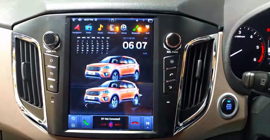 Hyundai Creta SUV with Tesla-style touchscreen is SUPER cool