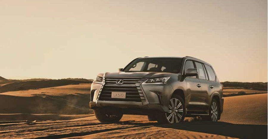 Lexus LX570 SUV: The two crore rupee Range Rover challenger is here