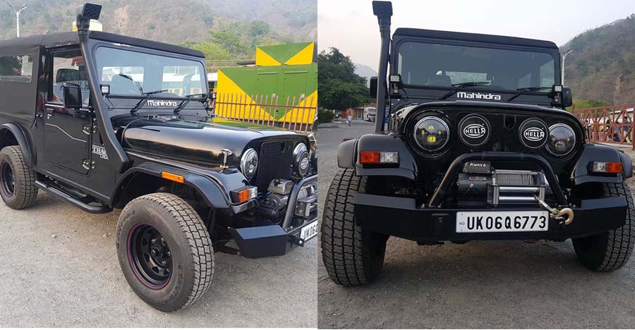 Mahindra MM550 modified into a Thar is a BEAUTIFUL conversion