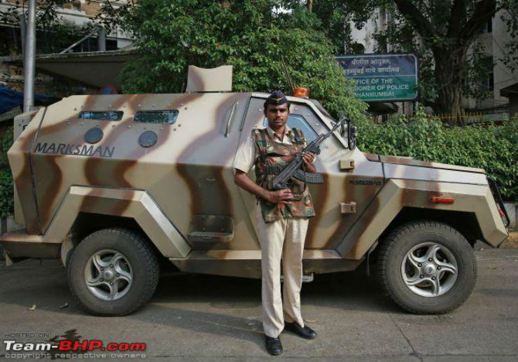 6 Unusual Vehicles Of Indian Police Forces