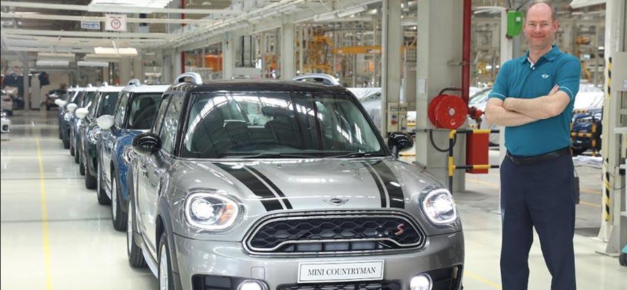 BMW India commences local production of MINI Countryman at its Chennai facility