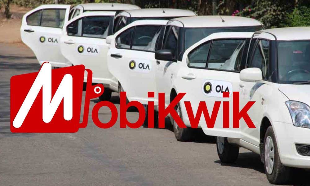 MobiKwik allows users to book Ola cabs 'in-app'