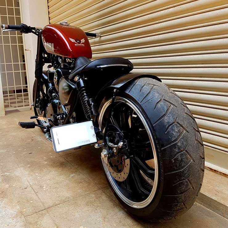 Bulleteer Customs' Agira is their latest modified Royal
