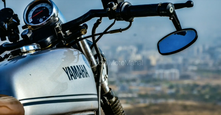 Modified Yamaha RX135 by KirexMoto Customs is a major nostalgia trip