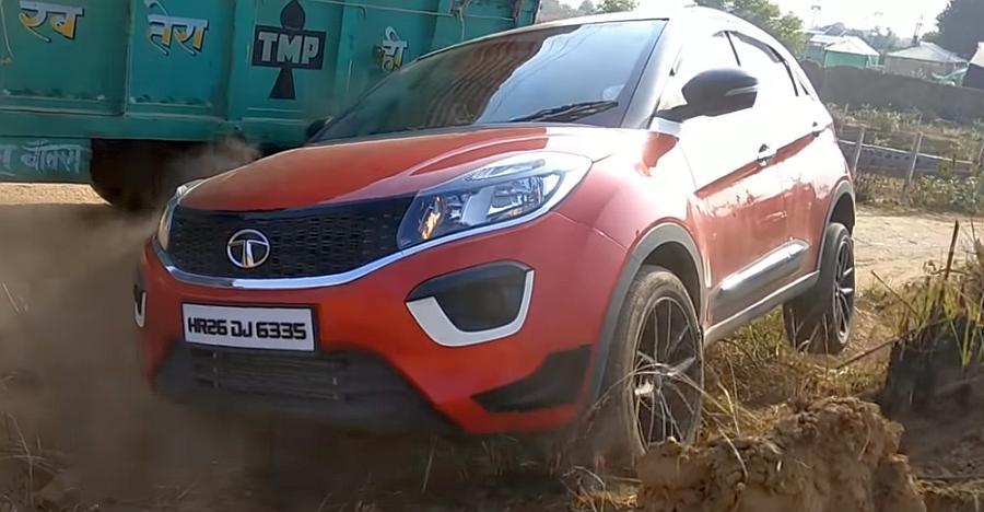 Watch the Tata Nexon compact SUV go off-roading, like a BOSS [Video]