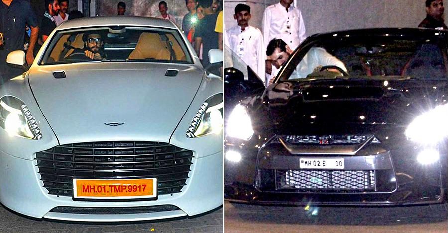 India's famous people & their sportscars caught on video: Ranveer Singh's Aston Martin to John Abraham's Nissan GT-R