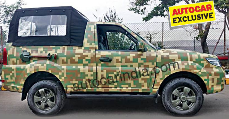 Indian Army-spec soft-top Tata Safari Storme GS800 fully revealed in latest images