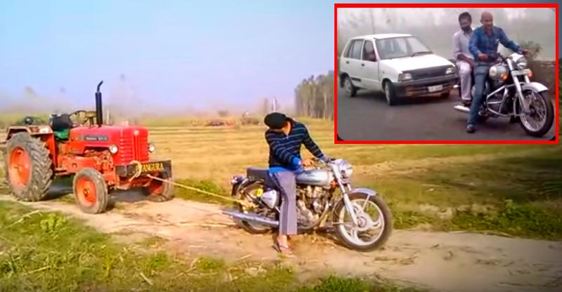 8 CRAZY things people have done with Royal Enfield motorcycles in India [Video]