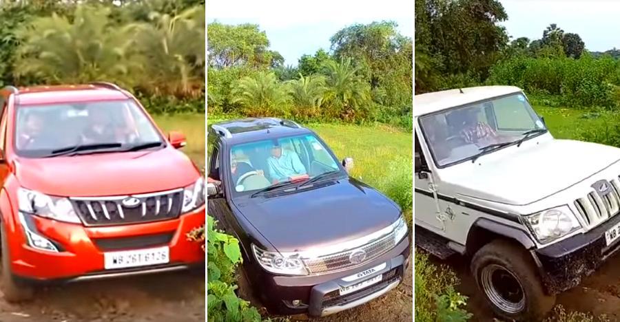 Mahindra XUV500 vs Bolero vs Tata Safari Storme: Who's the BOSS [Video]