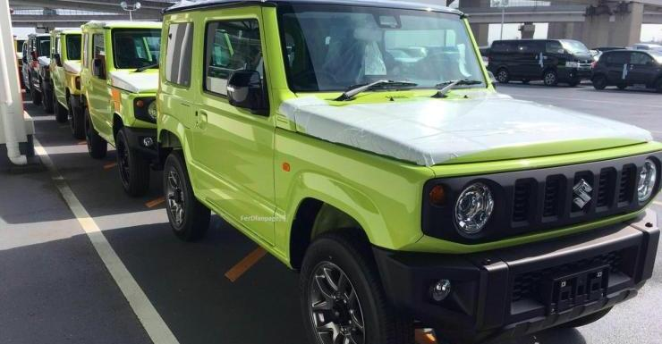 2018 Suzuki Jimny: CLEAREST pictures straight from the factory floor