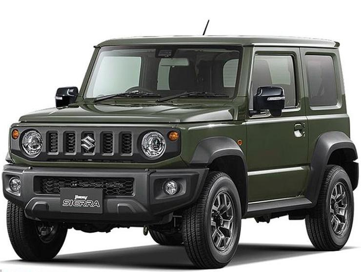 2018 suzuki jimny suv looks like a baby mercedes g class in these studio pictures. Black Bedroom Furniture Sets. Home Design Ideas