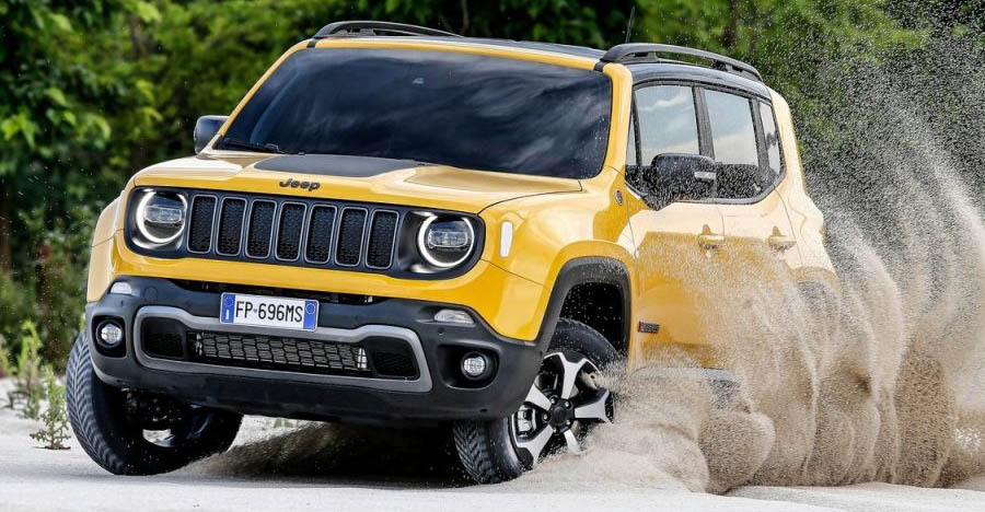 2019 Jeep Renegade Trailhawk compact SUV REVEALED