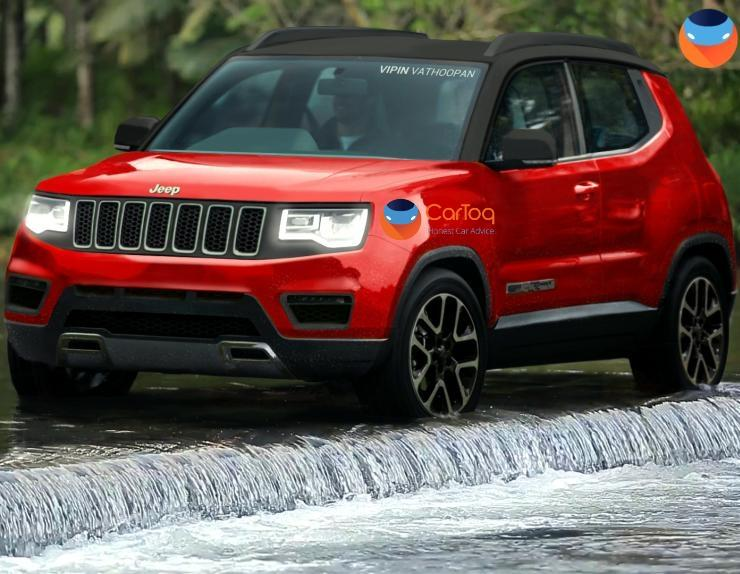 Jeep Compass Little Brother To Challenge Brezza What It Could Look