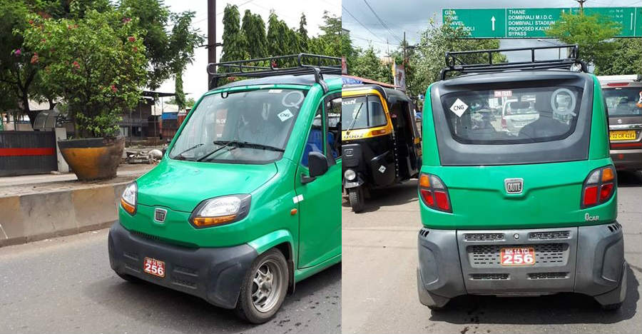Bajaj Qute quadricycle will be launched in CNG variants; First pictures