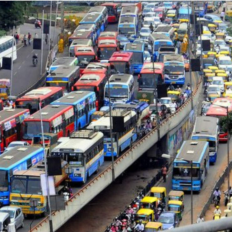Image result for latest images of Far from reducing traffic jams, Bengaluru elevated corridors will increase it