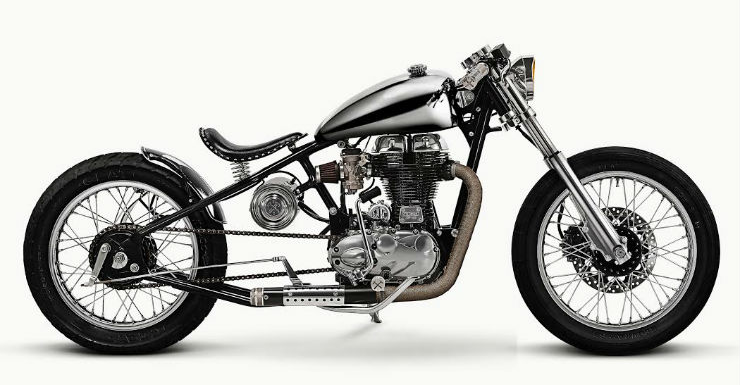 5 MODIFIED Royal Enfield motorcycles 'officially' ordered by the factory itself