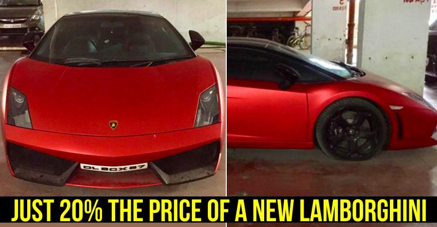 This is India's CHEAPEST Lamborghini!