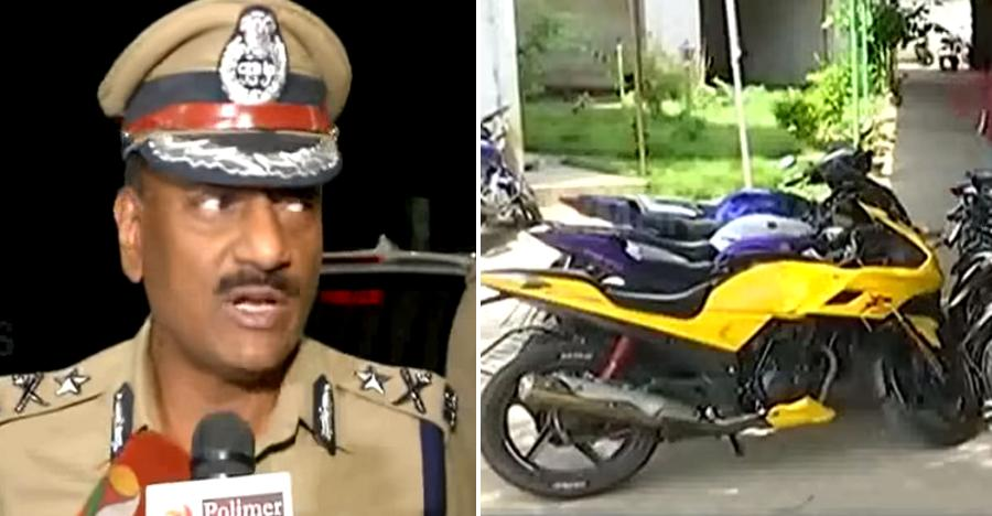 Chennai cops SEIZE over 80 bikes for 'street racing' [Video]