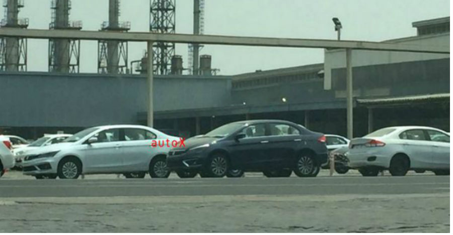 Upcoming Maruti Ciaz revealed in spy pictures before launch