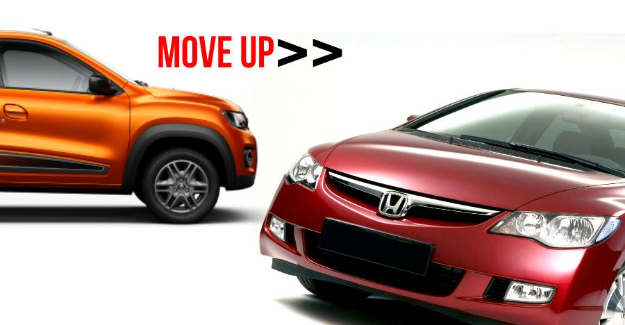 6 hassle-free, used luxury cars at the price of a Renault Kwid: Honda Civic to Toyota Corolla