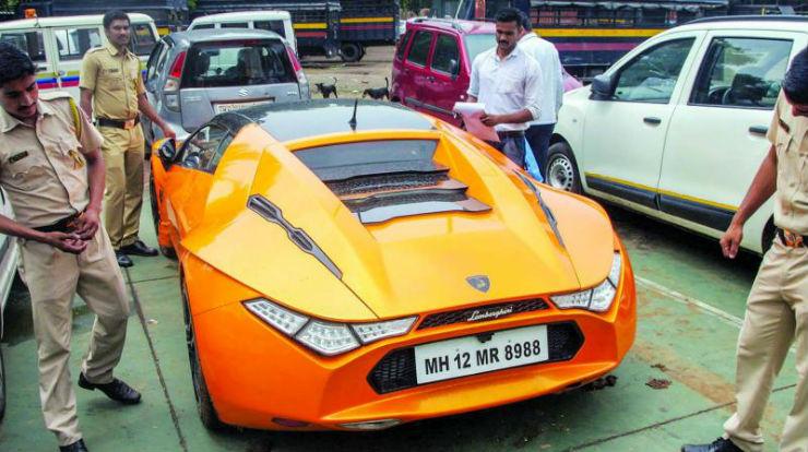 Bitcoin Businessman S Fake Lamborghini Mercedes Seized By Mumbai