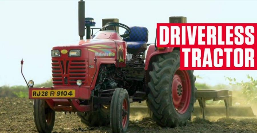19-year-old son of a farmer builds 'DRIVER-LESS' tractor: Watch it operate [Video]