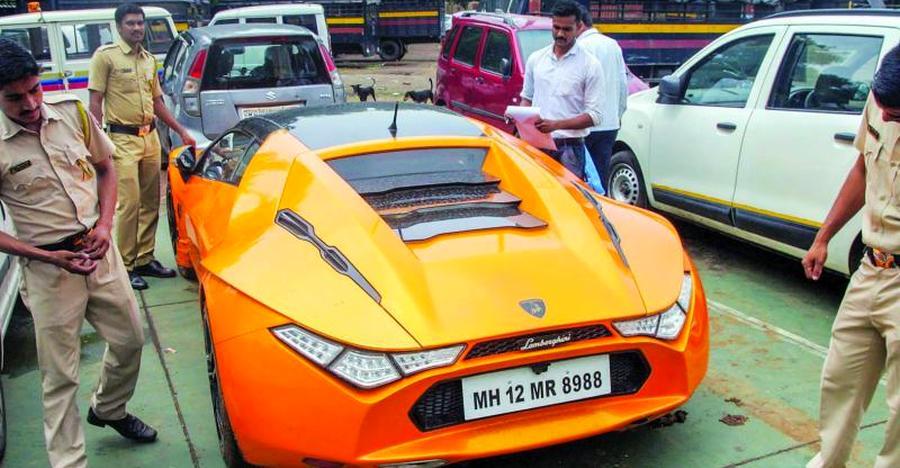 Bitcoin businessman's 'fake Lamborghini', Mercedes SEIZED by Mumbai police