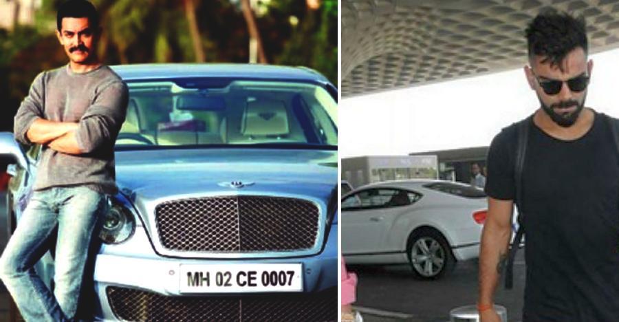 Multi-crore Bentleys of India's rich & famous: Virat Kohli to Aamir Khan
