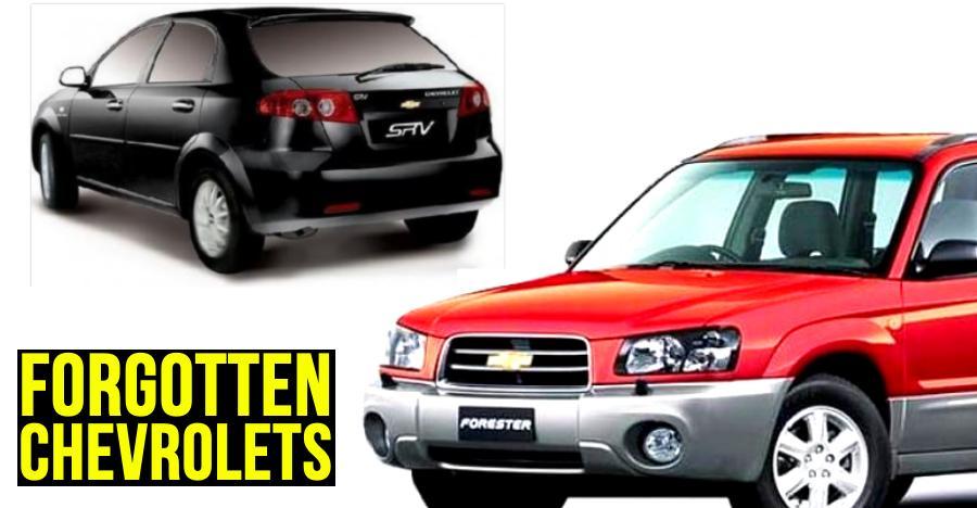 10 FORGOTTEN Chevrolet & Opel cars & SUVs of India: Optra Magnum to Trailblazer