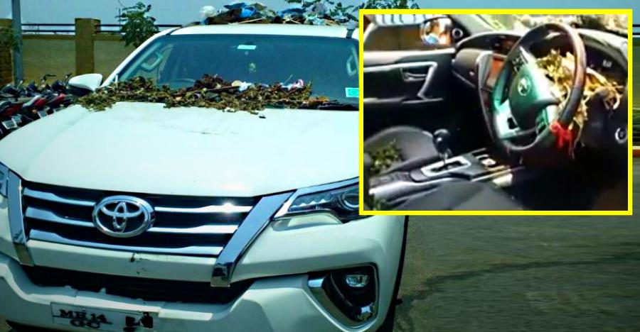 Angry with Toyota service, owner fills brand NEW Fortuner with garbage [Video]