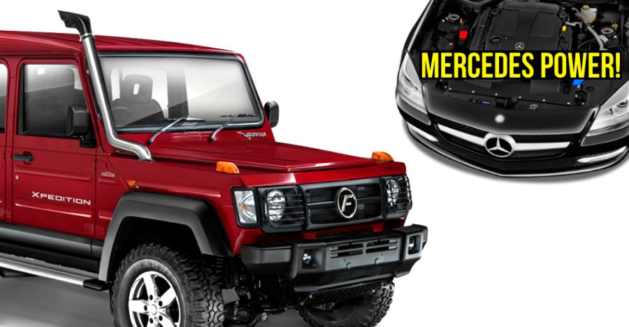 Force Gurkha to get a lot more POWERFUL than the Mahindra Thar; Thanks to Mercedes Benz!