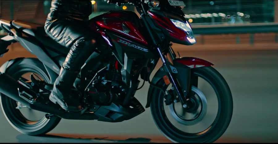 Honda X-Blade new TVC is out: One look is enough! [Video]
