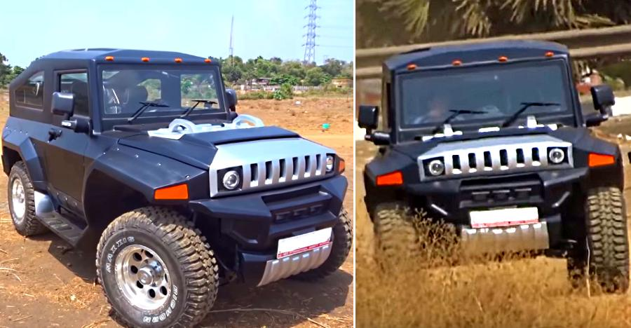 Indian HUMMER now on video! Modified Thar – inspired by Hummer – looks amazing