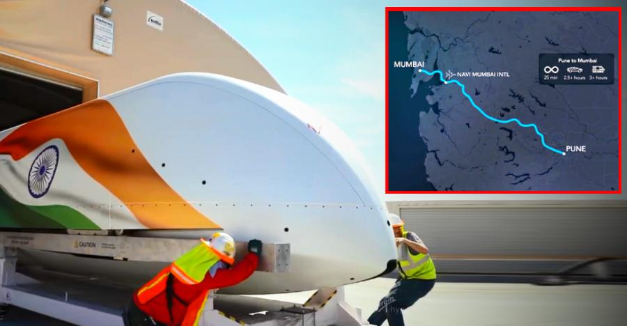 Watch Elon Musk's Hyperloop in action for the Mumbai-Pune route in India [Video]