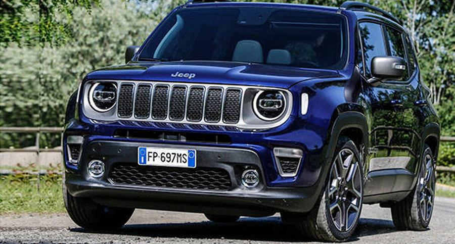 Facelifted Jeep Renegade compact SUV revealed