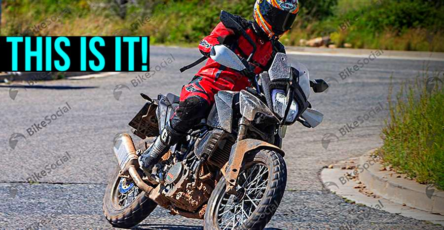 KTM Duke 390 ADV adventure motorcycle: First picture SURFACES