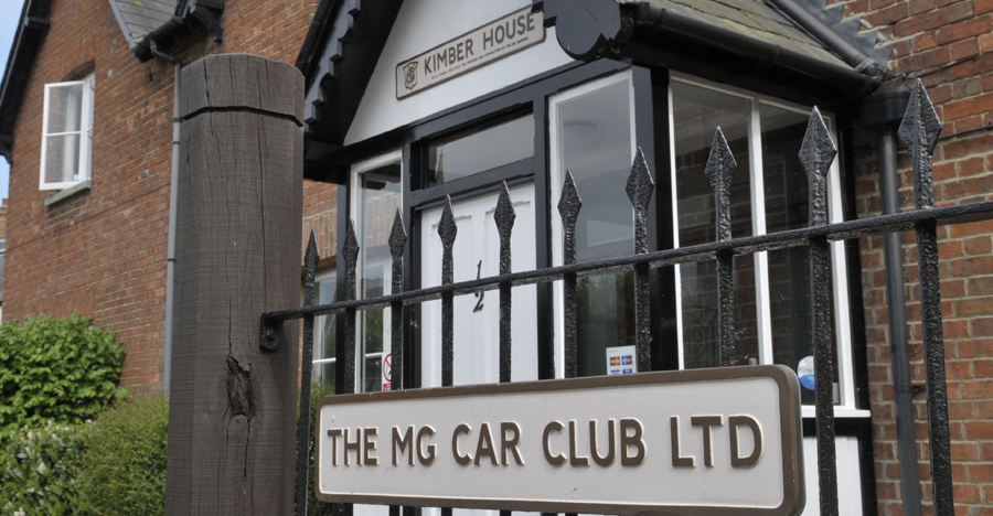 Feature: We visit MG Car Club's HQ at the Kimber House, UK