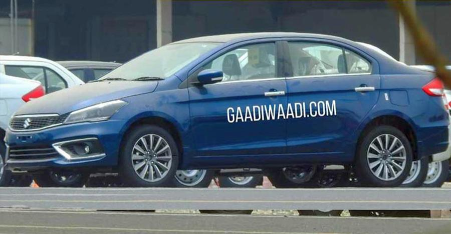 2018 Maruti Ciaz Facelift: CLEAREST pictures of the upcoming Honda City rival