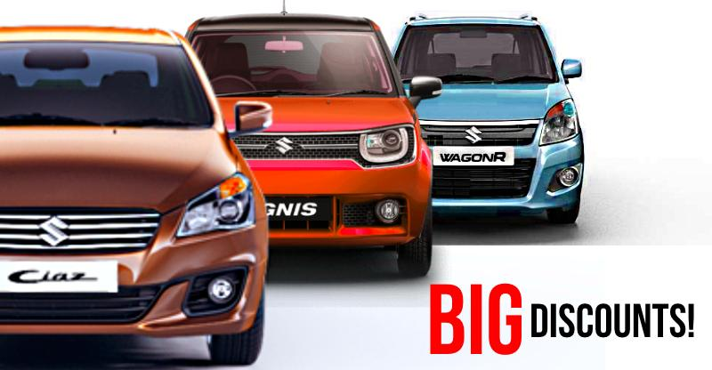 HEFTY discounts of Rs. 50,000+ on Maruti Suzuki cars: From Ciaz to Ertiga
