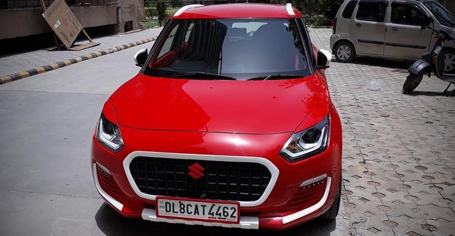 Modified New Maruti Swift from SS Designs looks LOUD