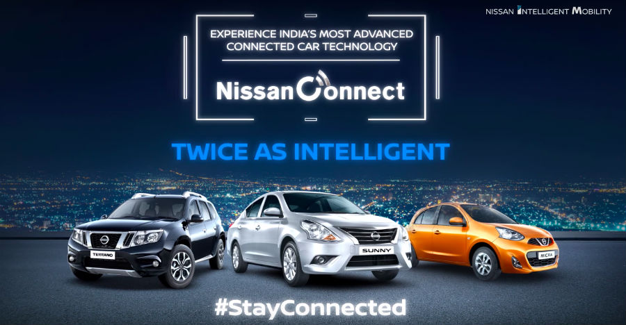 Nissan Connect app launched in India; Works with Micra, Terrano & Sunny