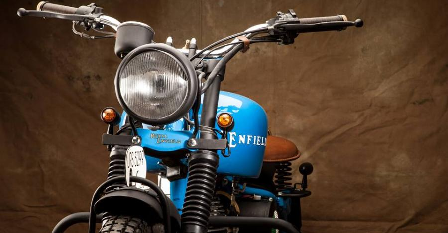 5 MAJESTIC, customised Royal Enfields from Old Delhi Motorcycles