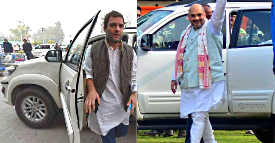 10 Indian politicians & their Toyota Fortuners: Rahul Gandhi to Amit Shah