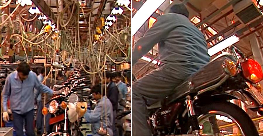Watch the legendary Yamaha RX100 getting BUILT at the factory [Video]