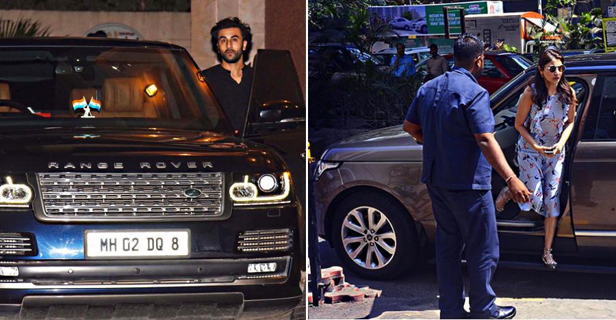 10 Bollywood actors & their swanky Range Rover SUVs: Ranbir Kapoor to Anushka Sharma