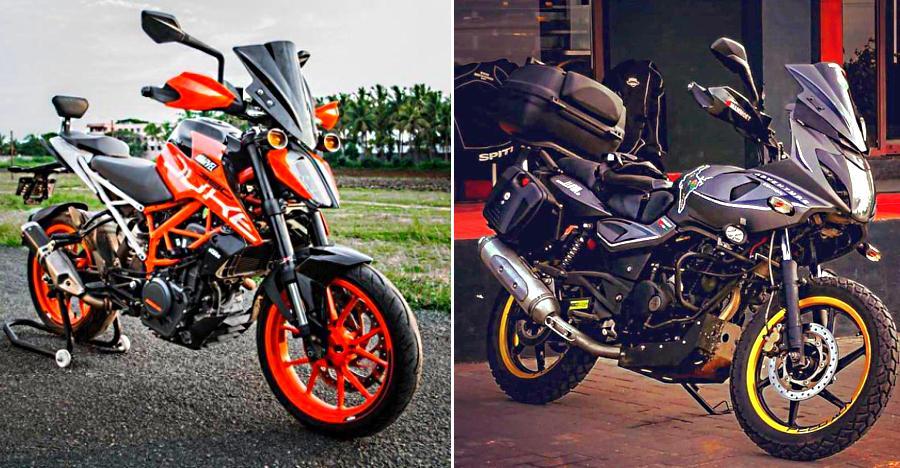 5 affordable motorcycles transformed into ADV bikes: From KTM 390 Duke to Bajaj Dominar